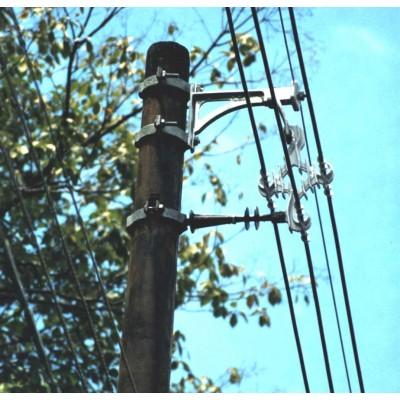 Braço anti-balanço 25 kV